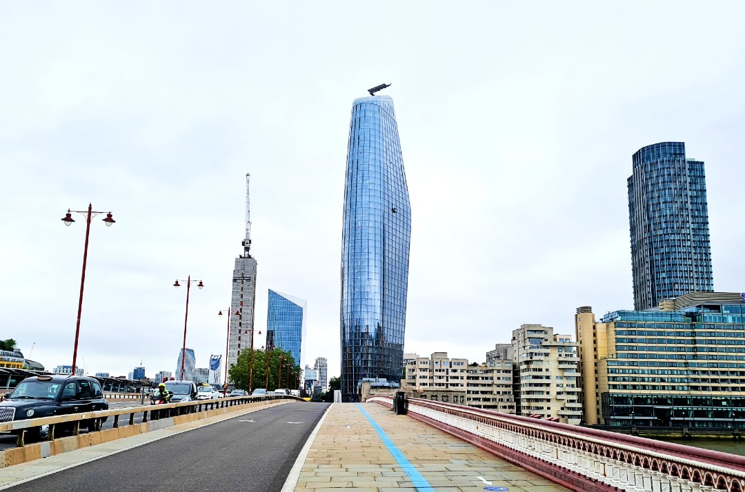 one blackfriars london skyscrapers