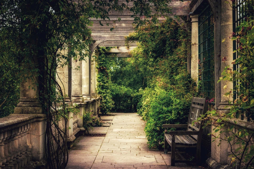 Hampstead gardens of London